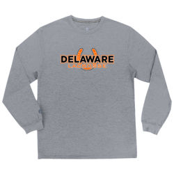 Delaware Shoe LAX  Long Sleeve Wicking Tee Thumbnail