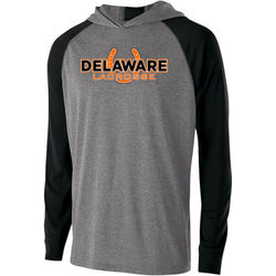 Youth Delaware Shoe Lax Wicking Hoodie  Thumbnail